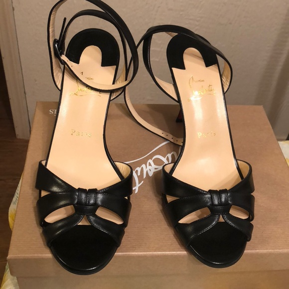 innovative design 68fa3 f332a Trezuma 85 black heels size 10.5 NWT